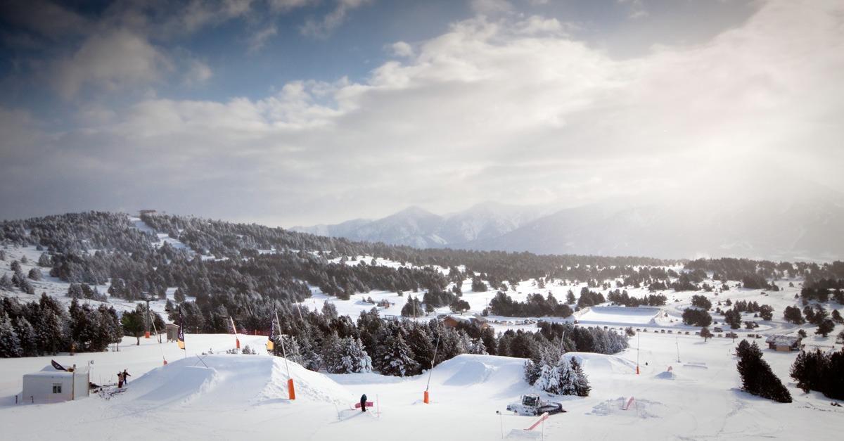 station de ski Font-Romeu - Pyrénées2000