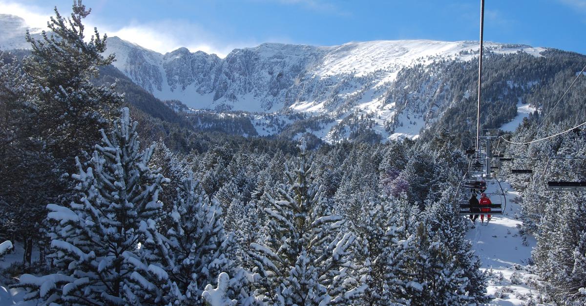 station de ski Cambre d'Aze