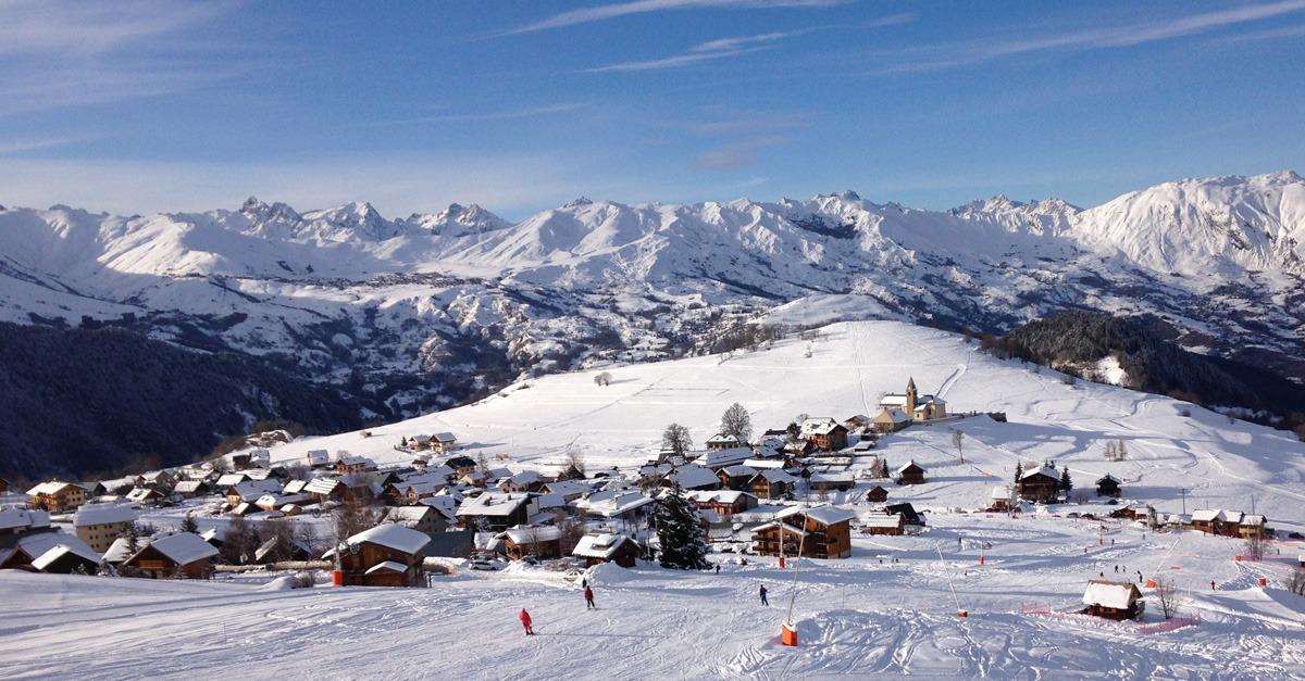 station de ski Albiez