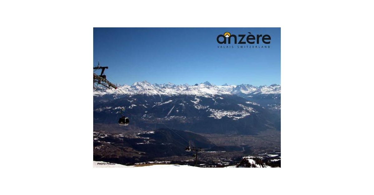 station de ski Anzère