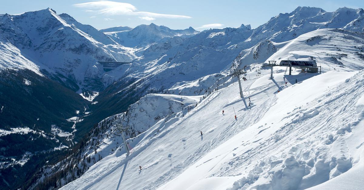 station de ski Thyon-Région