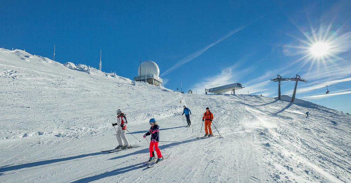 station de ski Station des Rousses - Jura sur Léman