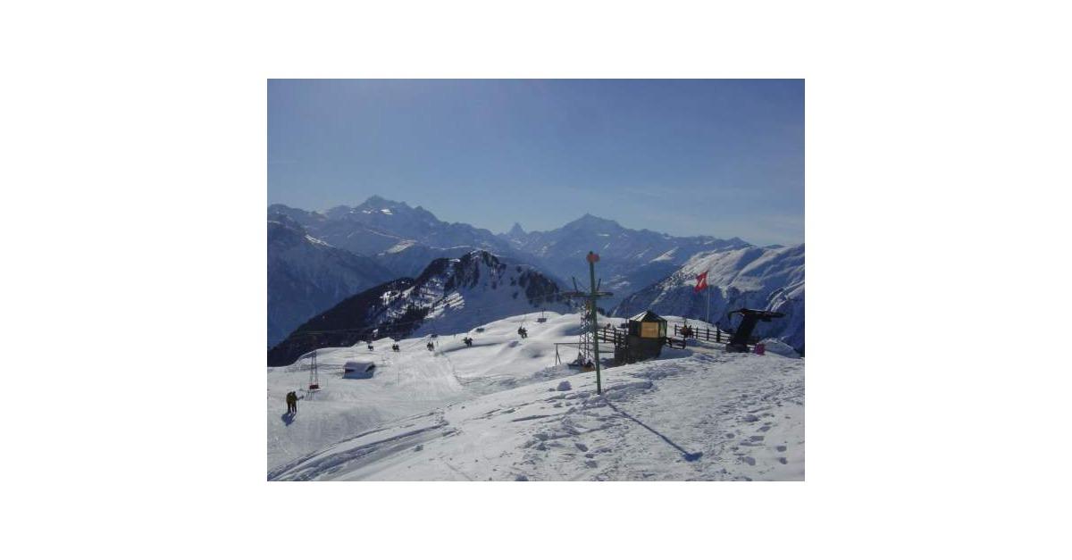 station de ski Riederalp