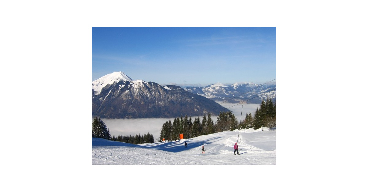 station de ski Mont-Saxonnex