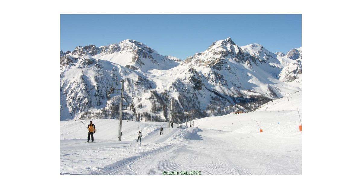 station de ski Briançon 1200