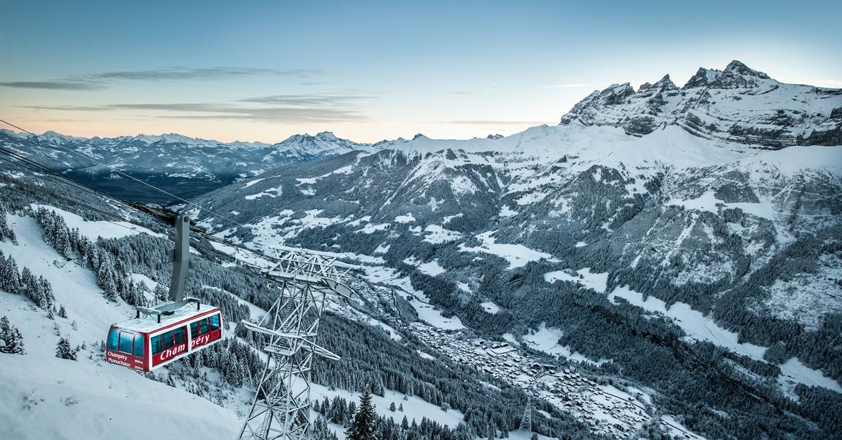 station de ski Champéry