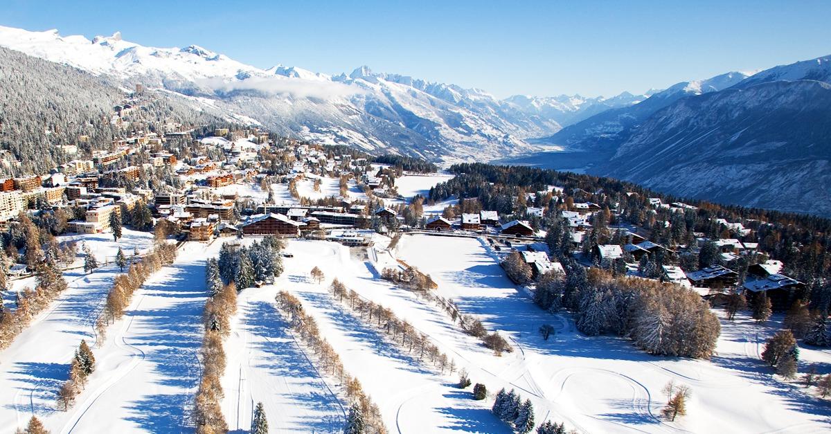 station de ski Crans Montana
