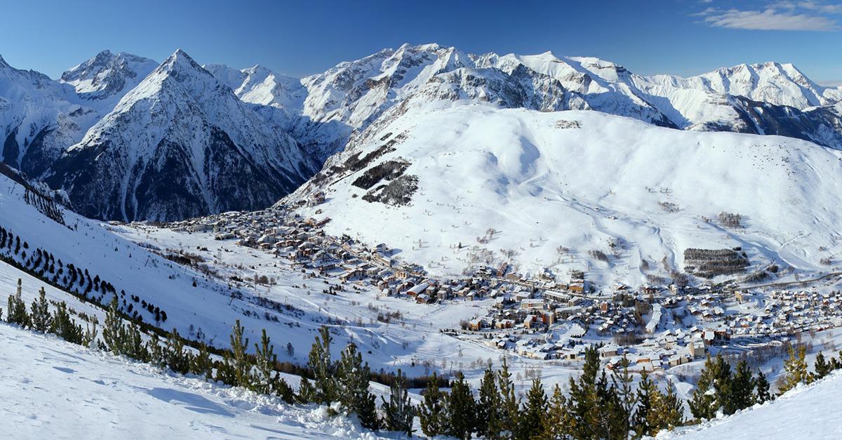 station de ski Les Deux Alpes