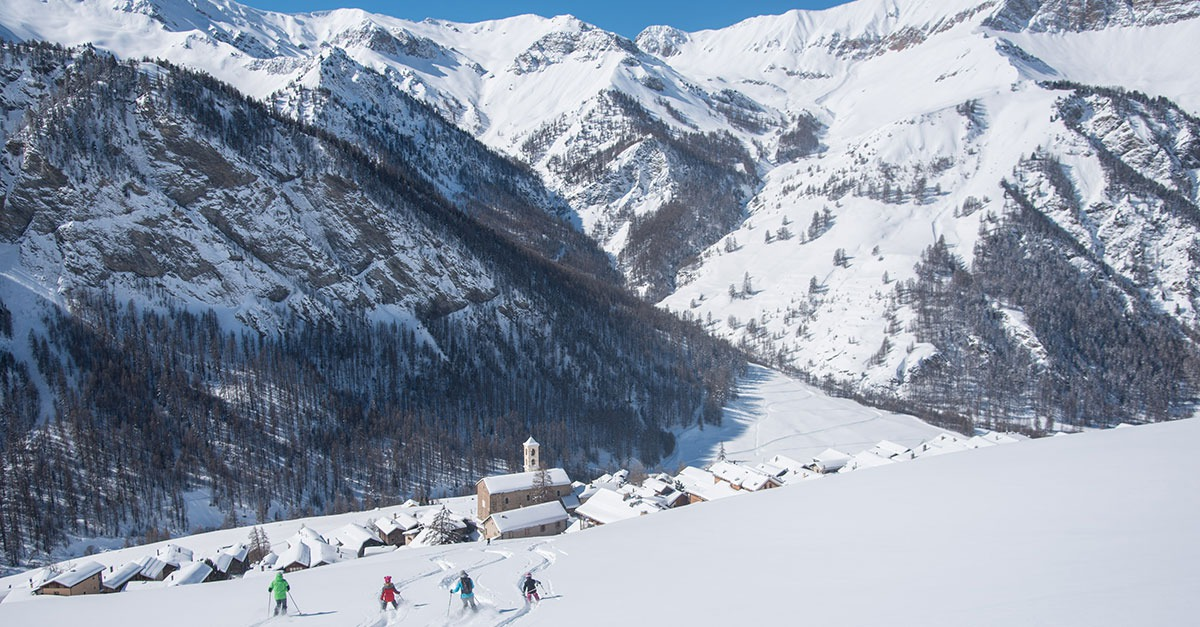 station de ski Molines en Queyras