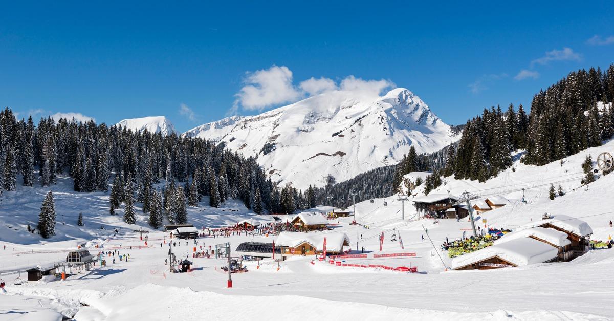 station de ski Montriond