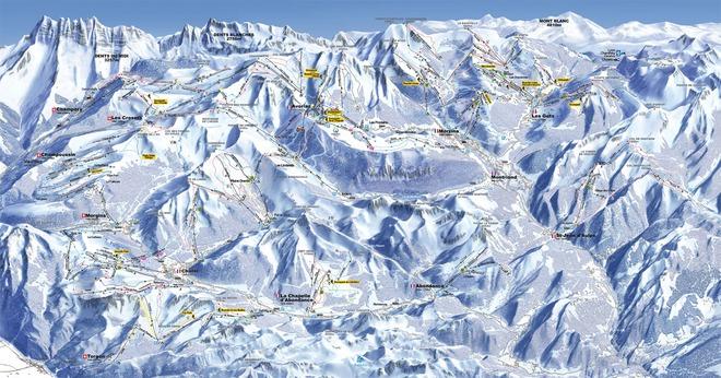 plan des pistes Morgins