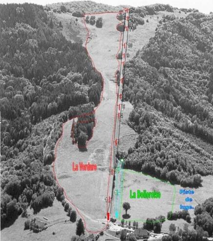 plan des pistes Schlumpf