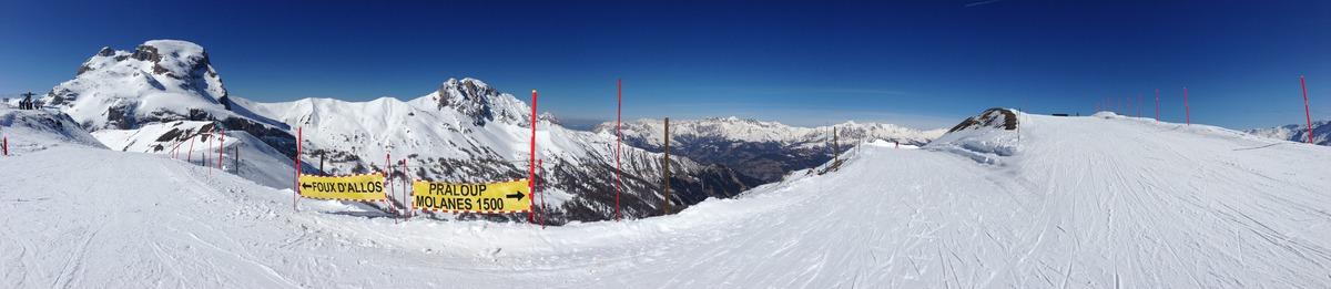 Val d'Allos mardi 15 mars 2016